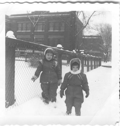 Verdun, 1950s (A Canadian Family, Photo Collection)