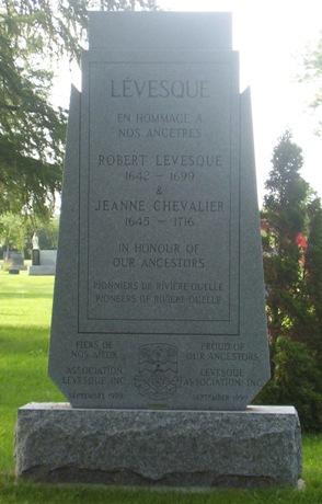 Levesque, Chevalier Lechevalier of Riviere-Ouelle (La-Pocatiere)