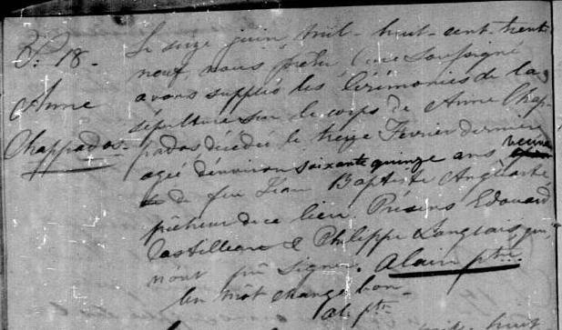 BlogChappados Anne 1830