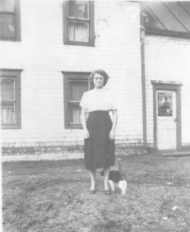 Evelyn Luce & Dog