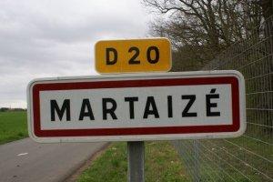 Martaize sign