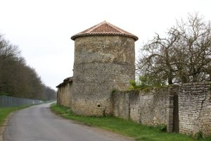 Martaize wall construciton round tower