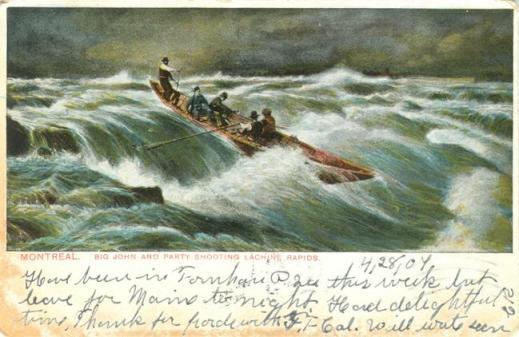 Big John of Kahnawake (Caughnawaga) A Canadian Family Vintage Postcard Collection