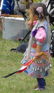 traditional dress native Amerindian First-Nations Kahnawake