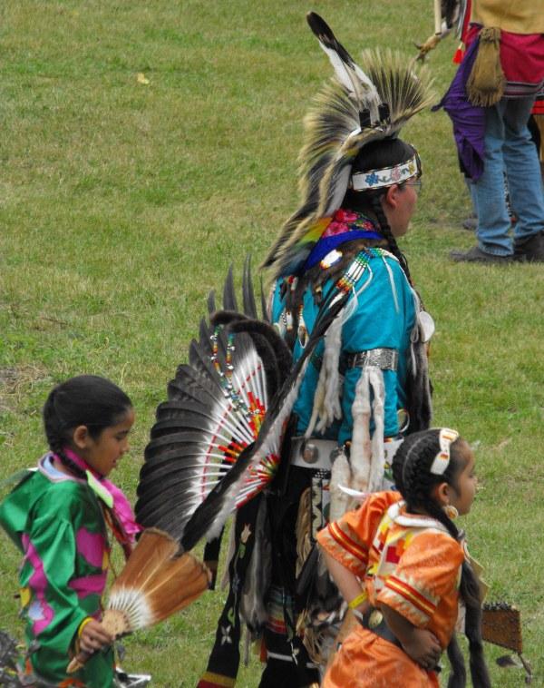 Kahnawake man kids