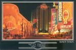postcard Las Vegas neon signs