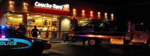 Couche Tard Tow Truck