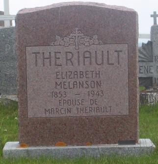 St.Simon & St.Jude Cemetery – Grande Anse, New Brunswick | Melanson, Theriault Genealogy