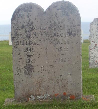 St.Simon & St.Jude Cemetery – Grande Anse, New Brunswick | Theriault, Aube Genealogy