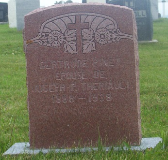 St.Simon & St.Jude Cemetery – Grande Anse, New Brunswick | Pinet, Theriault Genealogy