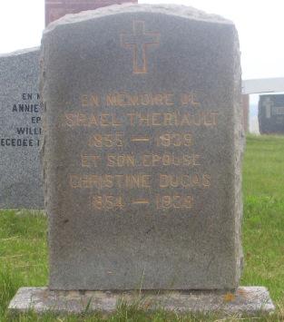 St.Simon & St.Jude Cemetery – Grande Anse, New Brunswick | Dugas, Theriault