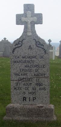 St.Simon & St.Jude Cemetery – Grande Anse, New Brunswick | Mazerolle, Theriault Genealogy