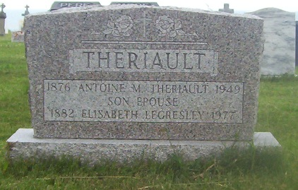 St.Simon & St.Jude Cemetery – Grande Anse, New Brunswick | Legresley, Theriault Genealogy