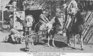 Caughnawaga | Kahnawake | Indian Museum | sideshow