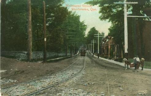traditional tramways | Sherbrooke Quebec | history of Quebec
