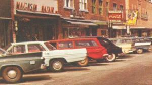 Baie Comeau 60s cars