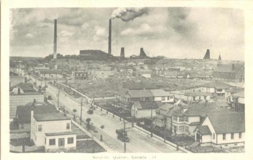 Vintage postcard - Noranda | Abitibi-Temiscamingue, Quebec