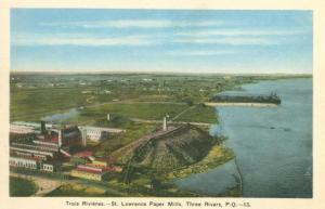 Trois Rivieres St. Lawrence Paper Mills
