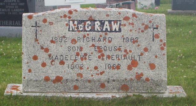 St.Simon & St.Jude Cemetery – Grande Anse, New Brunswick | McGraw, Theriault Genealogy