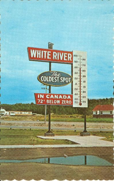 White River, Ontario, Winnie the Pooh