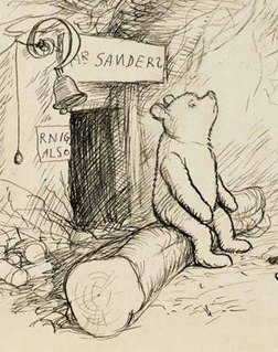 Winnie and smoke