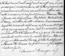 Native American genealogy, burial record, Quebec natives