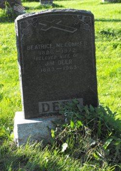 Deer, McComber  | Kahnawake Catholic Cemetery | First Nations Genealogy