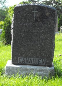 Canadien, Guerin | Kahnawake Catholic Cemetery | First Nations Genealogy