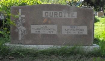 Curotte, Louis | Kahnawake Catholic Cemetery