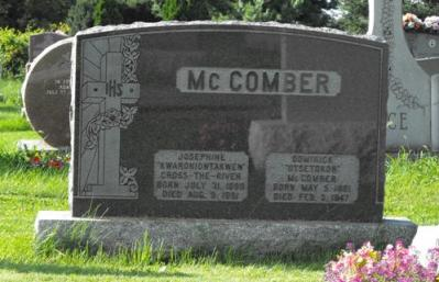 Cross-The-River, McComber | Kahnawake Catholic Cemetery | First Nations Genealogy