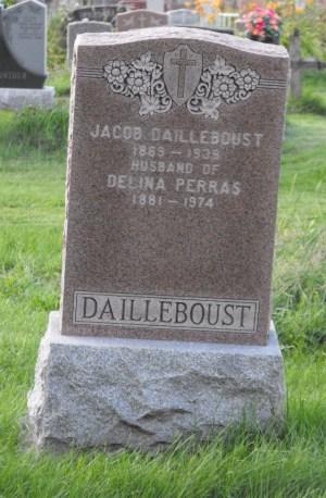 Dailleboust, Perras | Kahnawake Catholic Cemetery | First Nations Genealogy