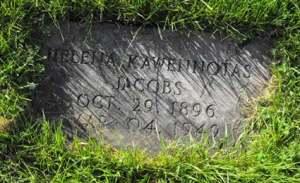 Jacobs   Kahnawake Catholic Cemetery