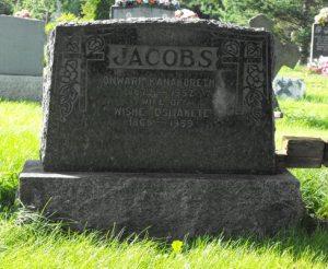 Jacobs, Ositakete | Kahnawake Catholic Cemetery