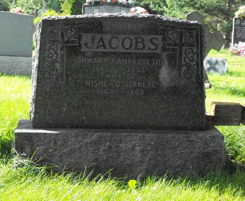 headstone, Jacobs