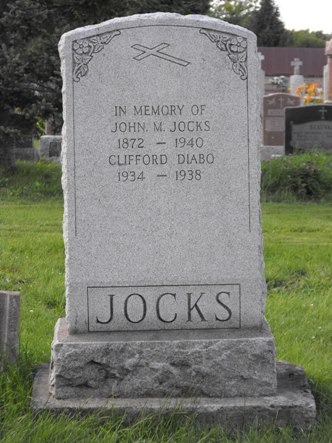 Diabo, Jocks  | Kahnawake Catholic Cemetery | First Nations Genealogy