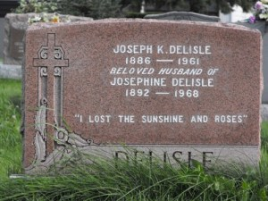 Delisle | Kahnawake Catholic Cemetery | First Nations Genealogy