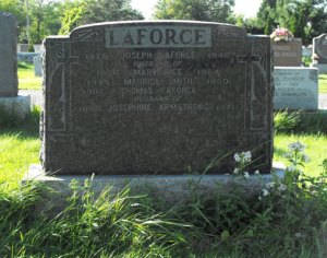 Armstrong, Laforce, Rice, Smith   Kahnawake Catholic Cemetery