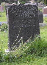 indian burial, Canadian Family