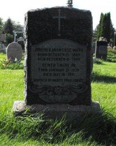 Mayo, Smith |  Kahnawake Catholic Cemetery