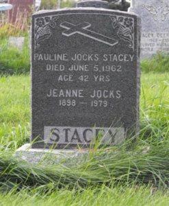 Jocks, Stacey | Kahnawake Catholic Cemetery | First Nations Genealogy