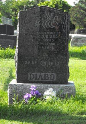 Diabo, Lazare | Kahnawake CatholicCemetery