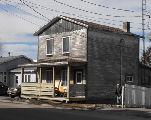 Caughnawaga, Quebec | Indian house
