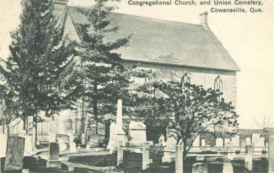 Cowansville Congregational Church and Union Cemetery