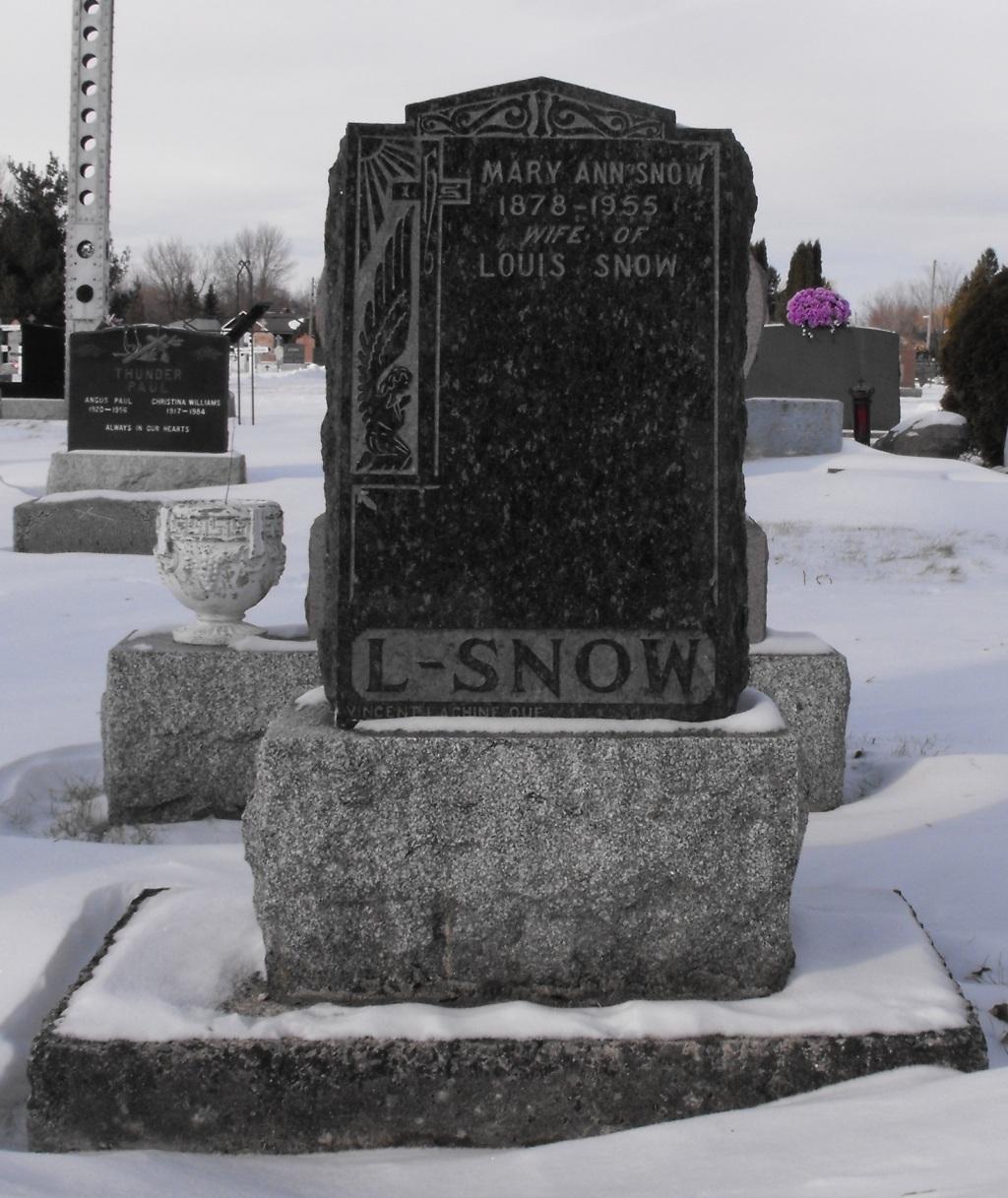 Snow, Mary Ann