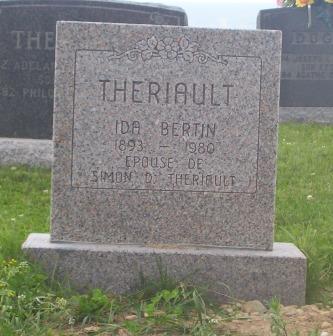 St.Simon & St.Jude Cemetery – Grande Anse, New Brunswick | Bertin, Theriault Genealogy