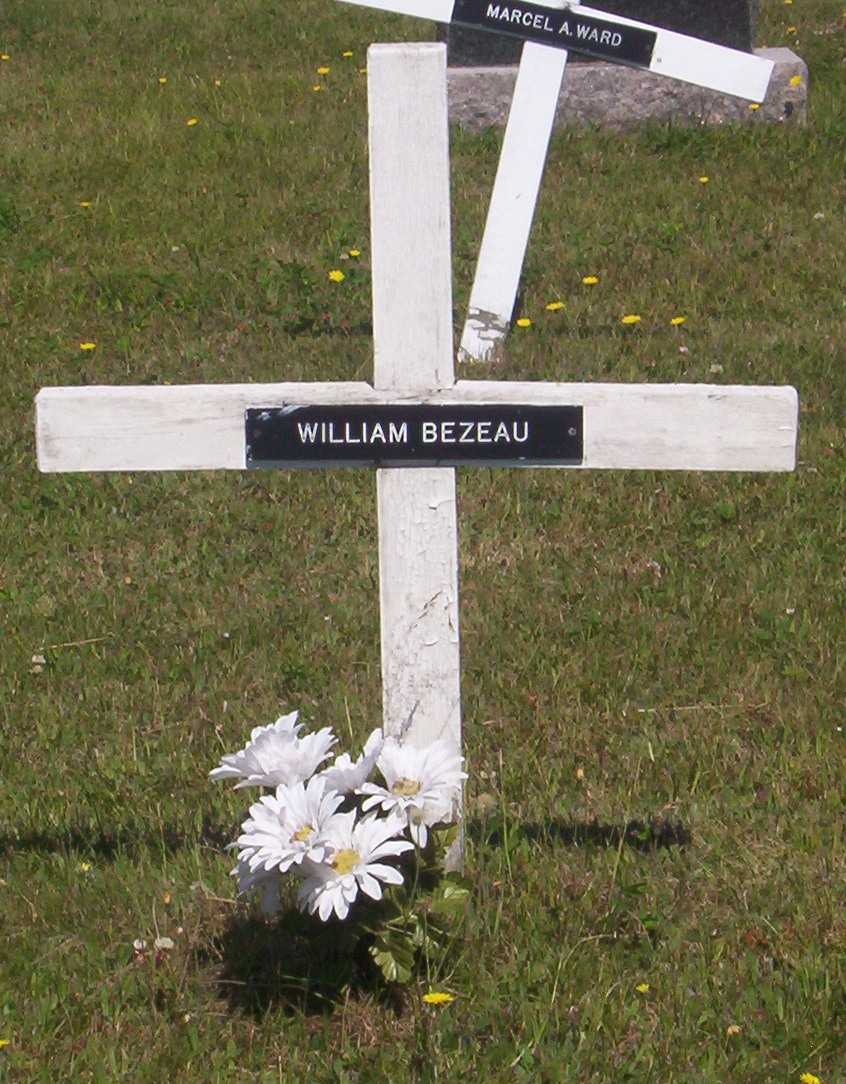 Miscou Headstone - Bezeau William