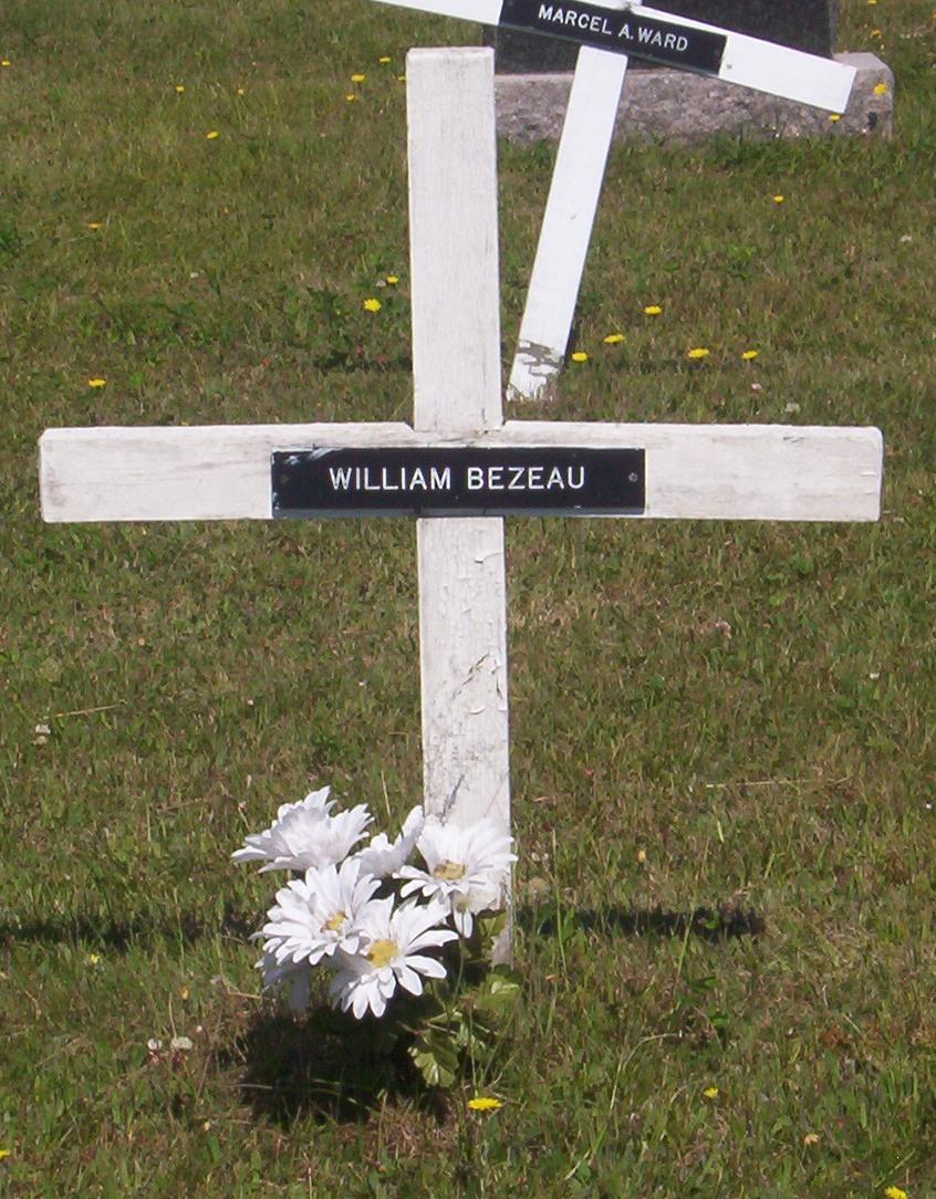 Miscou Headstone - Bezeau William