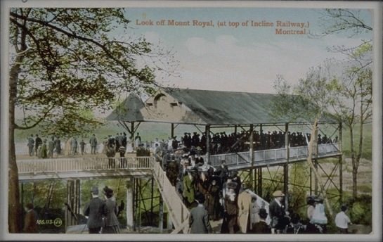 Funicular Inclined Railway | Historic images of Montreal