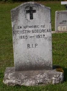 Headstone: BOUDREAU    St. Joachim, Bertrand   New Brunswick Cemeteries