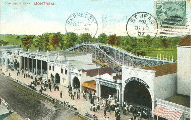 Vintage wooden roller coaster  |  Historic Amusement Park |